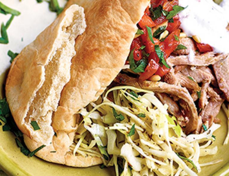 secreto, kebab, varkensvlees